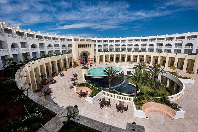 Отдых в тунисском отеле Medina solaria thalasso 5