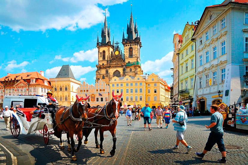 Самостоятельная поездка в Прагу