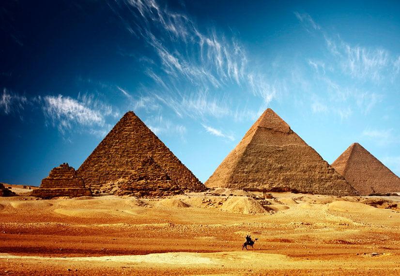 Древнеегипетские пирамиды: прикосновение к истории фараонов
