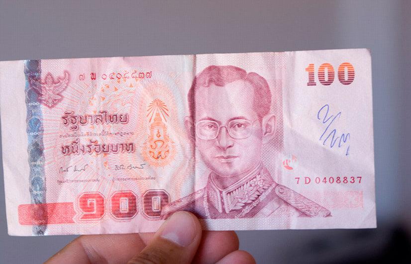 Соотношение российского рубля и тайского бата