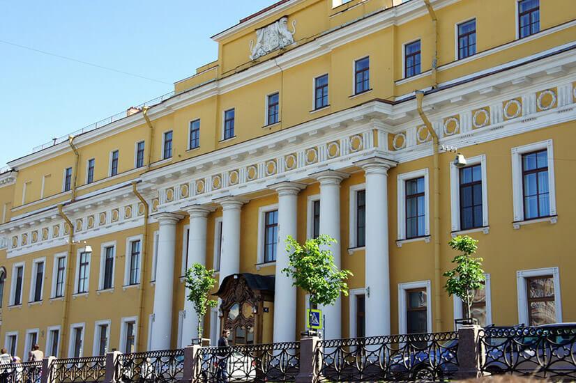 Юсуповский дворец на Мойке: фамильная княжеская резиденция