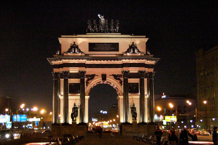 Описание Триумфальной арки