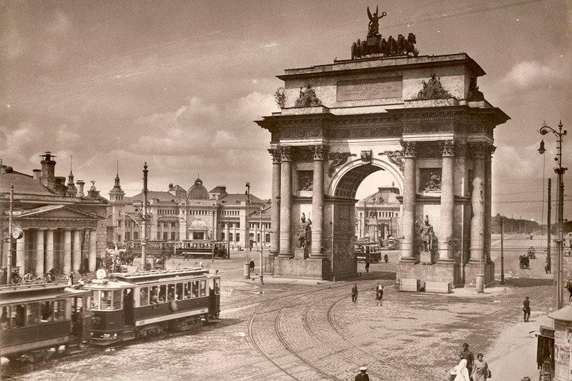 История московской Триумфальной арки