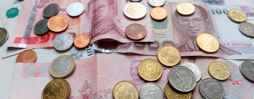 История курса тайского бата к рублю