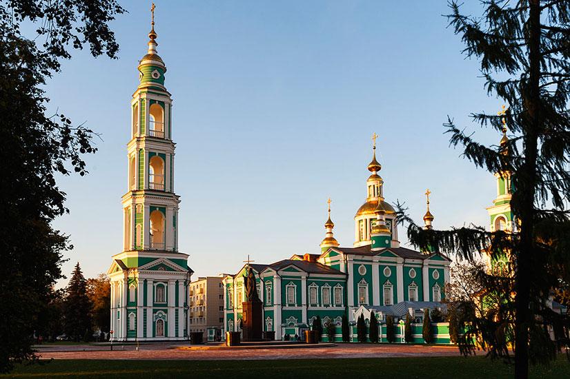 Спасо-Преображенский кафедральный собор тамбова