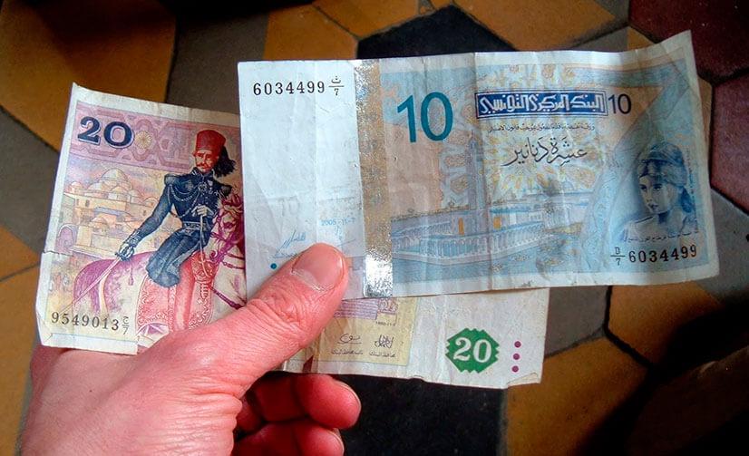 Деньги в Тунисе: правила и советы по обмену валюты