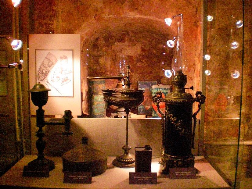 Уникальный музей осветительных приборов в Москве